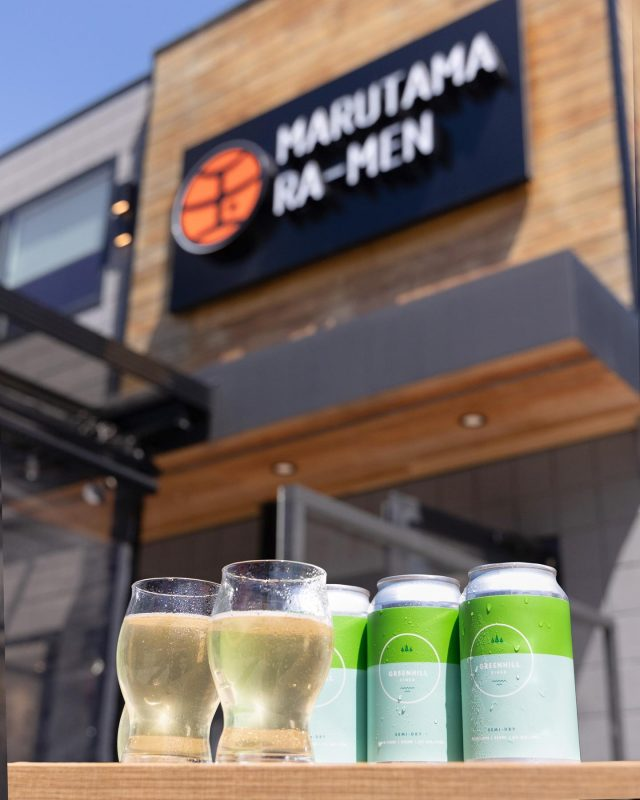 Best pairing for our creamy chicken soup?! 🍜 It would be local pure apple cider 🍏🥂  @greenhillcider produce amazing cider made by 100% BC apple. Available at all our locations beside GAIDEN (no liquor license😑)  #greenhillcider #cider #craftcider #bccraftcider #drinks  #604eats #vcbfood #vancitybuzzfood  #dishedvan #foodforfoodie #yvrfood #dhvanfood #vancouvereat #burnabyeats #richmondeats #richmondeats #vancouvereats #vancouverfoodie  #yvreats #marutama #yvrfood  #vancity #marutamaramen #homemade  #chickenbroth  #toripaitan  #まる玉 #ラーメン